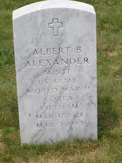 Albert B Alexander
