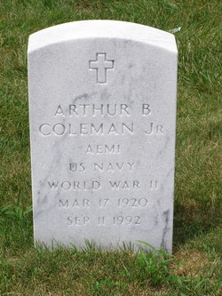 Arthur B Coleman, Jr