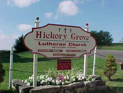 Homer-Hickory Grove Lutheran Cemetery