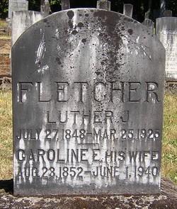 Caroline Elizabeth Condy <i>Graham</i> Fletcher