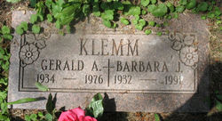 Barbara Jean Bea <i>Beltramo</i> Klemm