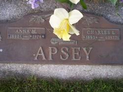 Anna May <i>Warner</i> Apsey