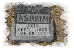 John <i>Nelson</i> Asheim