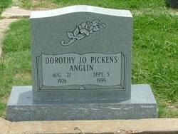 Dorothy Jo <i>Pickens</i> Anglin