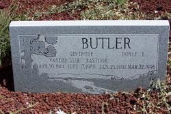 Gertrude <i>Vanderslik</i> Butler
