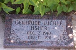 Gertrude Lucille Asher
