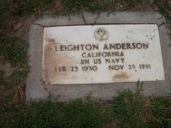 Ens Leighton Anderson