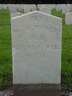 Pvt William H. Burnett