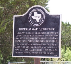 Buffalo Gap Cemetery