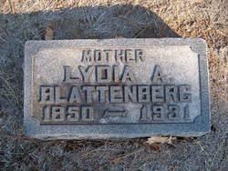 Lydia A. <i>Burch</i> Blattenberg