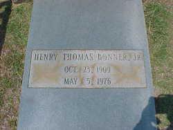 Henry Thomas Bonner, Jr