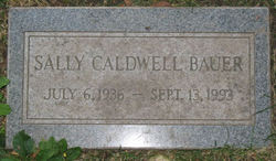 Sally <i>Caldwell</i> Bauer