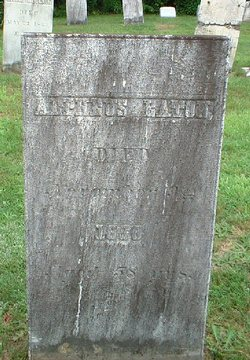 Alpheus Eaton