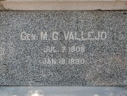 Gen Mariano Guadalupe Vallejo