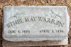 Ethel Mae <i>Sholers</i> Warren