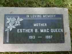 Esther B. MacQueen