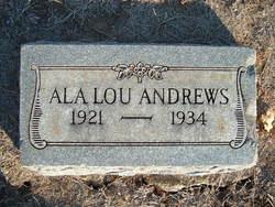 Ala Lou Andrews