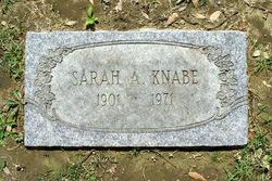 Sarah Alice <i>Phelps</i> Knabe