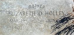 Elizabeth Mabel <i>Ozswart</i> Holley