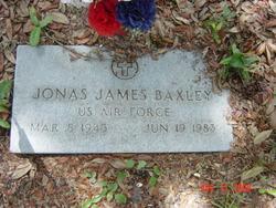 Jonas James Jimmy Baxley