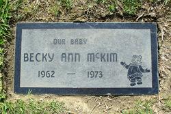 Becky Ann McKim