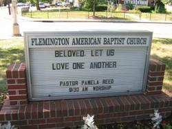 Flemington Baptist Churchyard