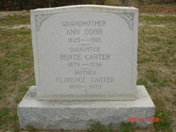 Florence <i>Harrington</i> Carter
