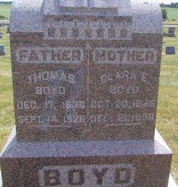 Clara E Boyd