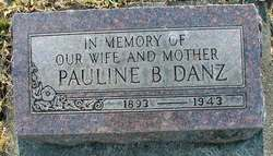 Pauline Bertha <i>Morgenthaler</i> Danz