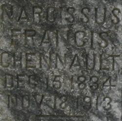 Narcissus Francis <i>Thomason</i> Chennault