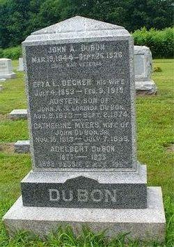 Effa Lorinda <i>Decker</i> DuBon