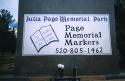 Julia Page Memorial Park