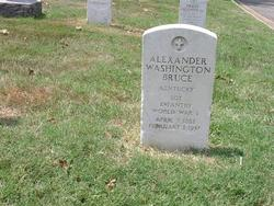 Sgt Alexander Washington Bruce