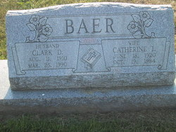 Catherine I Baer