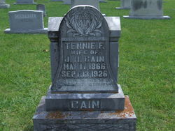 Tennessee F. Tennie <i>Mcillwain</i> Cain