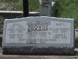 Mary Caroline B. <i>de San Roman</i> Browne