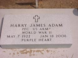 Rev Harry James Adam