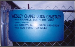 Wesley-Dixon Cemetery