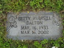 Betty Jean <i>Rudisill</i> Dalton