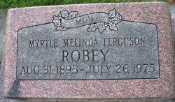 Myrtle Melinda <i>Ferguson</i> Robey