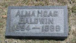 Alma <i>Hoag</i> Baldwin