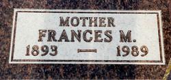 Frances Grace Fannie <i>Greenup</i> Beach