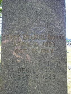 Bessie Lee <i>Bazzell</i> Baquol