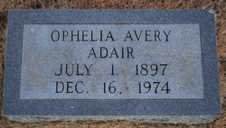 Ophelia <i>Avery</i> Adair