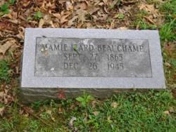 Mary Darthula Mamie <i>Izard</i> Beauchamp