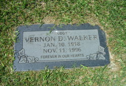 Vernon D Buddy Walker