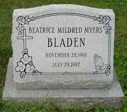 Beatrice Mildred <i>Myers</i> Bladen