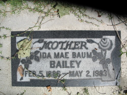 Ida Mae <i>Baum</i> Bailey