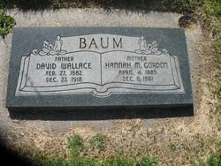 Hannah M <i>Gordon</i> Baum