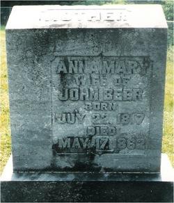 Anna Mary <i>Hetrick</i> Beer
